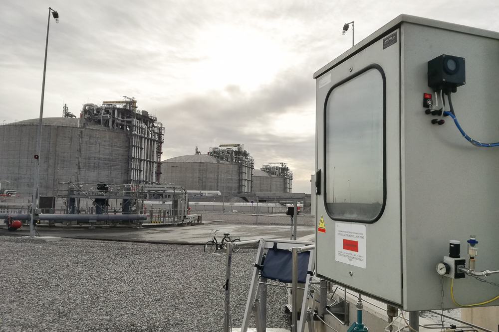 Explosion-proof chlorine analyzers facilitate chlorination and discharge compliance of LNG terminal