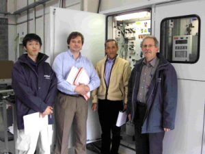 AppliTek & Yashima succesfully conclude Factory Acceptance Test for chlorine plant in Japan