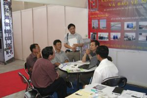 AppliTek exhibiting in Envirotex Vietnam 2007