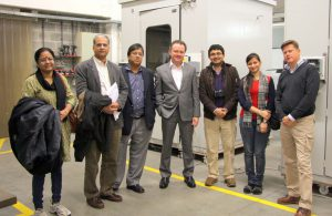 Indian Press delegation visits AppliTek