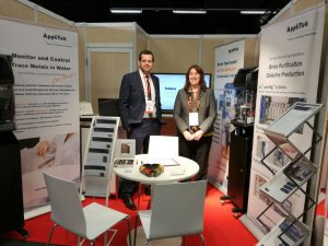 AppliTek currently participates at l'Analyse Industrielle in Paris, France