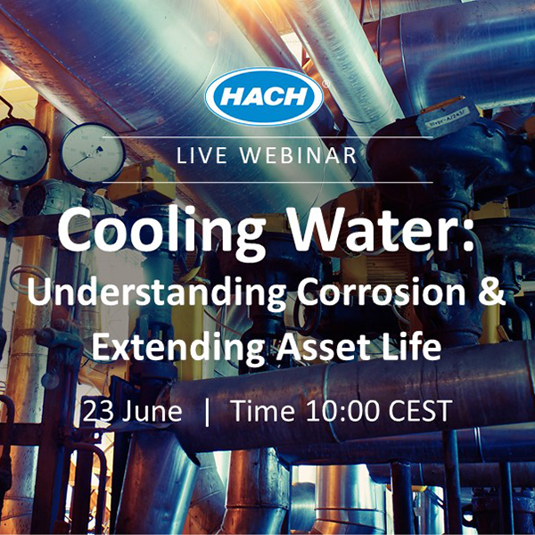 Webinar: Get Direct Insight Into Your Cooling Water